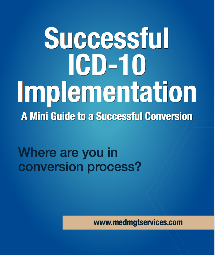 Successful ICD-10 Conversion